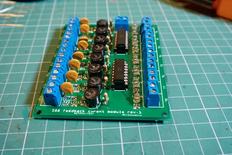 S88 feedback, tokovni modul