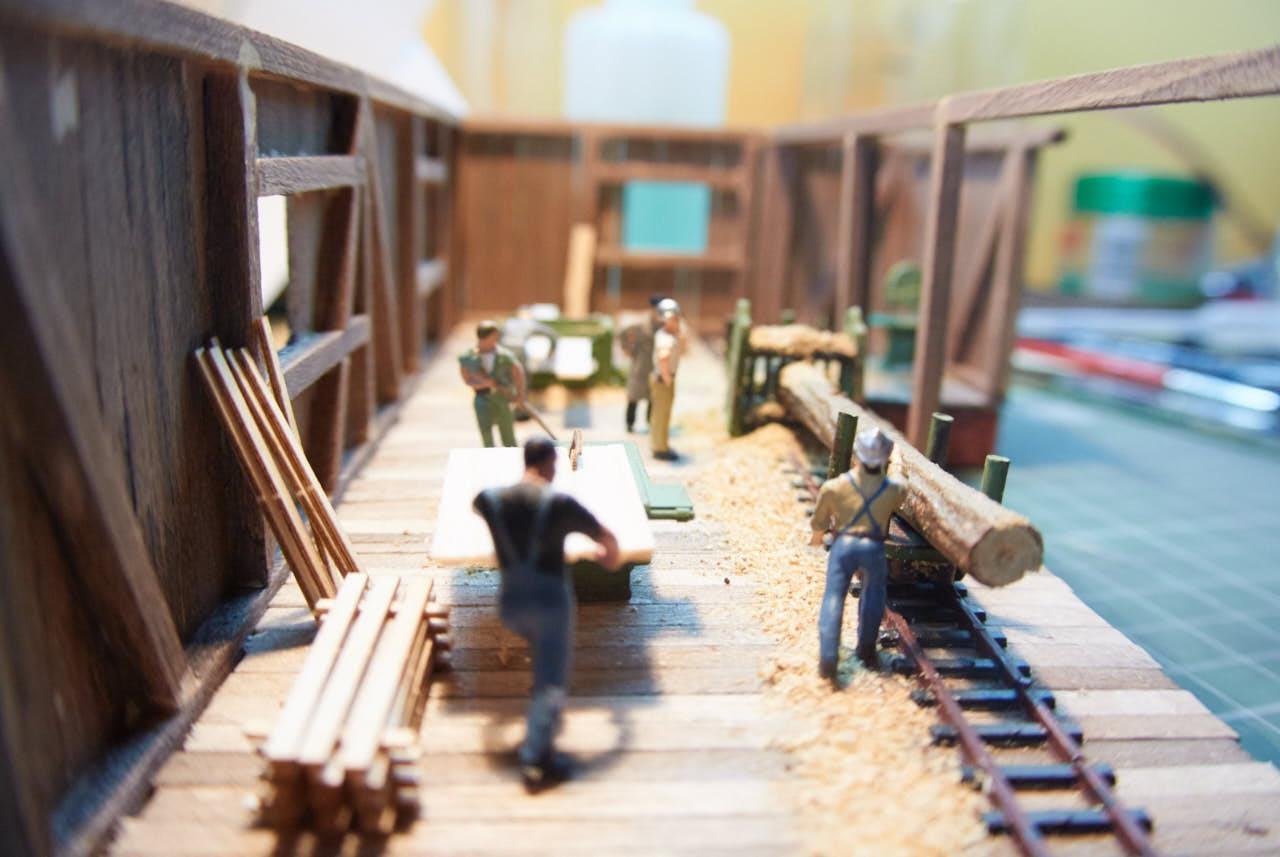 Izdelava žage za maketo – 3. del