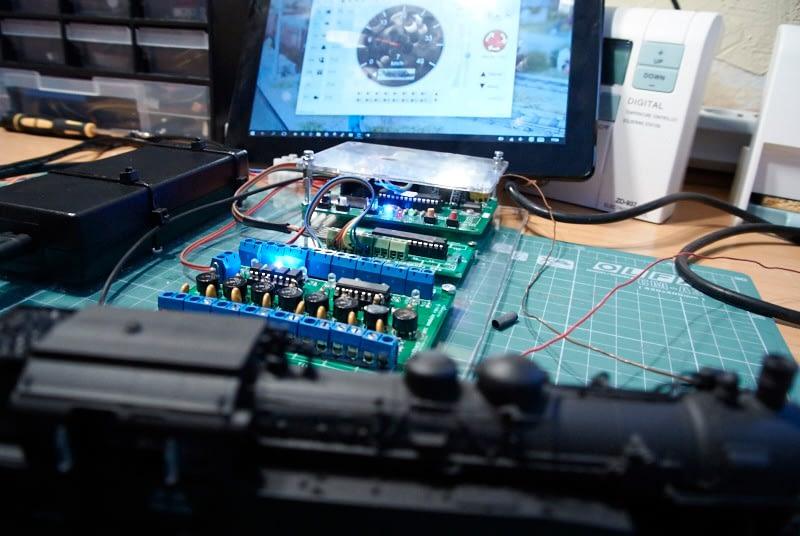 Elektronika za dioramo